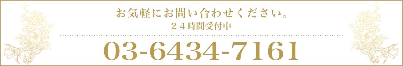 電話: 03-6434-7161